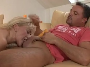 Blonde German mature takes a hard pounding