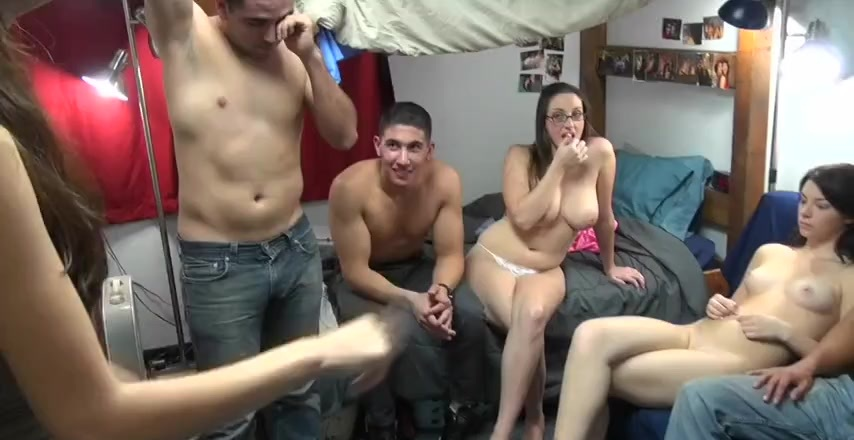 Amateur College Sex Party