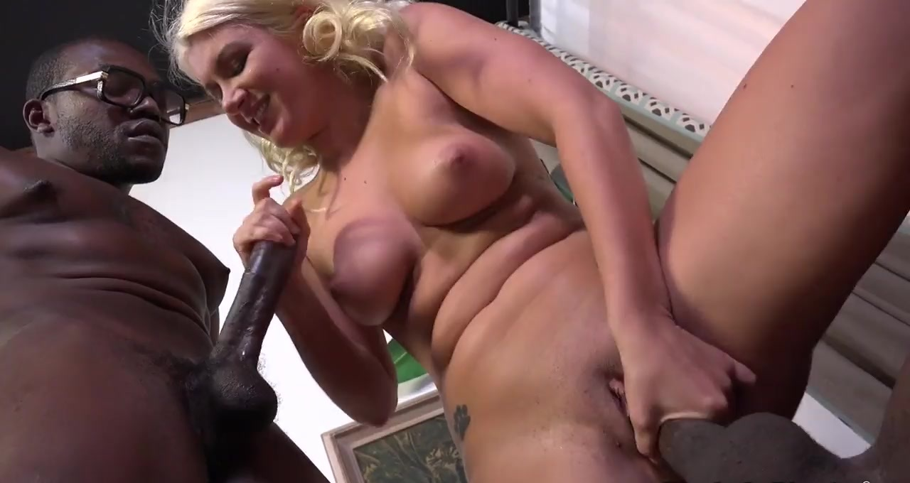 Busty Blonde Layla Price Outdoor Anal